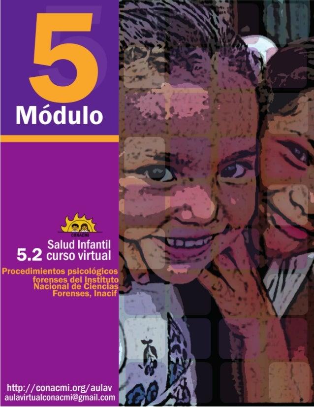 Salud infantil Curso virtual Módulo 5 Denuncia y procedimientos de casos de violenciacontraniños,niñasyadolescentes Proced...