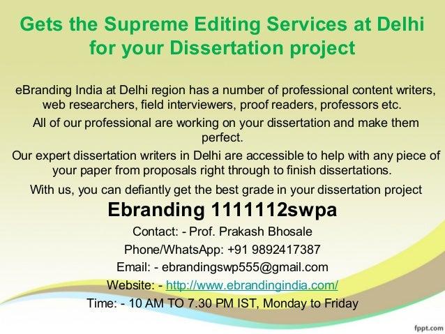 Dissertation editing help delhi