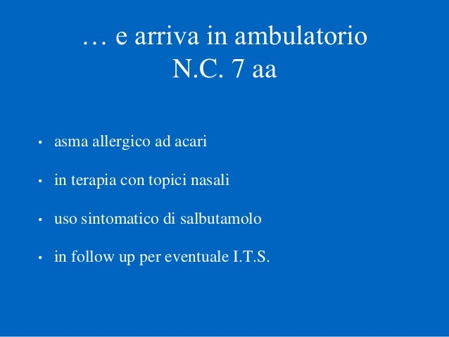 Piero Gianiorio. Caso clinico Slide 3
