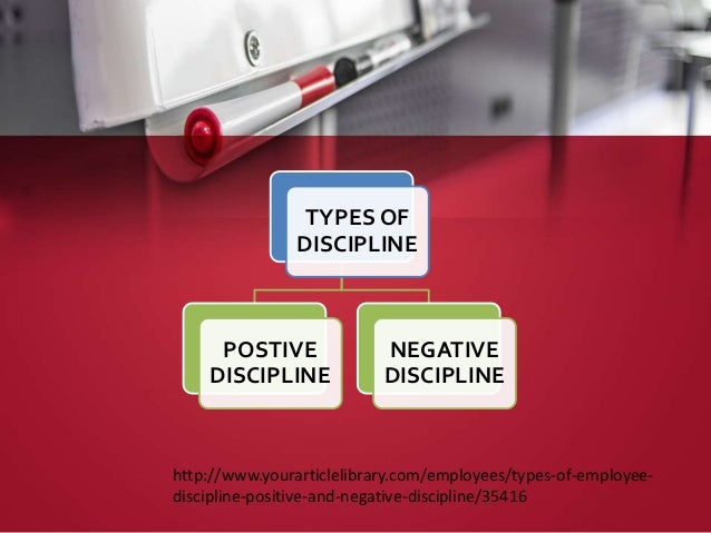 negative discipline in the workplace