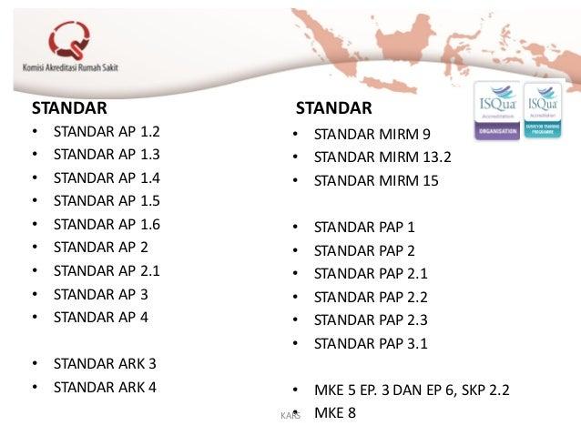 STANDAR • STANDAR AP 1.2 • STANDAR AP 1.3 • STANDAR AP 1.4 • STANDAR AP 1.5 • STANDAR AP 1.6 • STANDAR AP 2 • STANDAR AP 2...