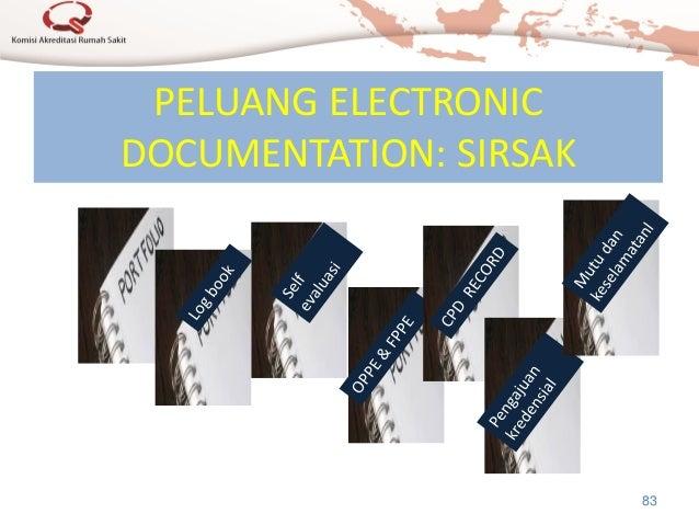 PELUANG ELECTRONIC DOCUMENTATION: SIRSAK 83