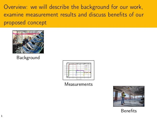 Design Considerations for RINA Congestion Control over WiFi Links Slide 3