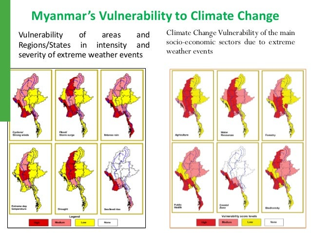 Climate Change Events in Myanmar and Future Scenarios mod
