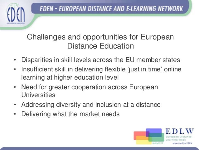 The future of distance education - EADTU View #edlw2019 Slide 2