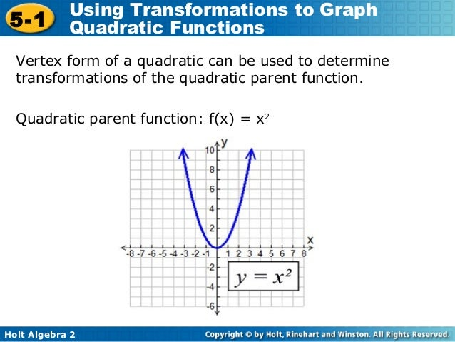 5 1 quadratic transformations