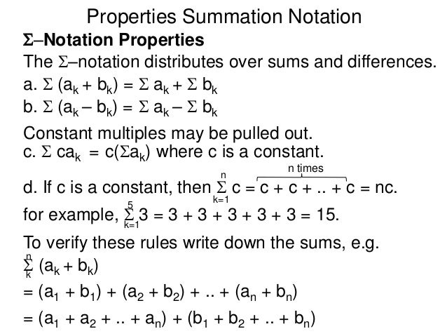 how to write a matrix in summation notation
