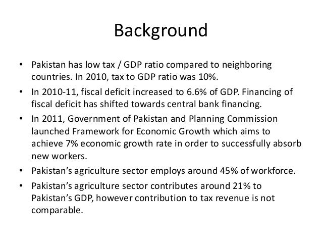 agriculture tax in pakistan These are some of the most common property tax exemptions: star (school tax relief) senior citizens exemption veterans' exemption exemption for persons with disabilities exemptions for agricultural properties full list of property tax exemptions exemption reporting requirements for taxing.