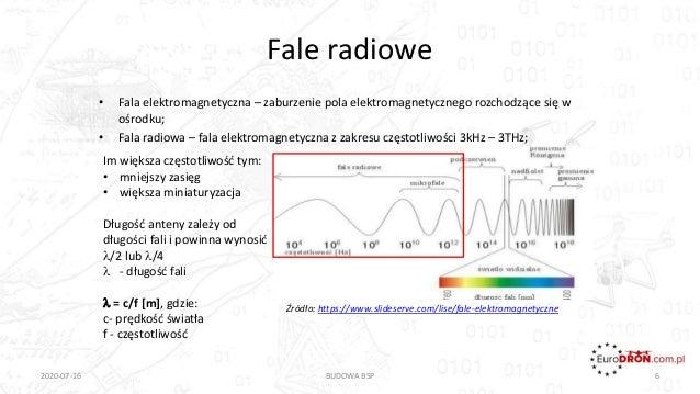 Źródło: https://www.slideserve.com/lise/fale-elektromagnetyczne Fale radiowe • Fala elektromagnetyczna – zaburzenie pola e...