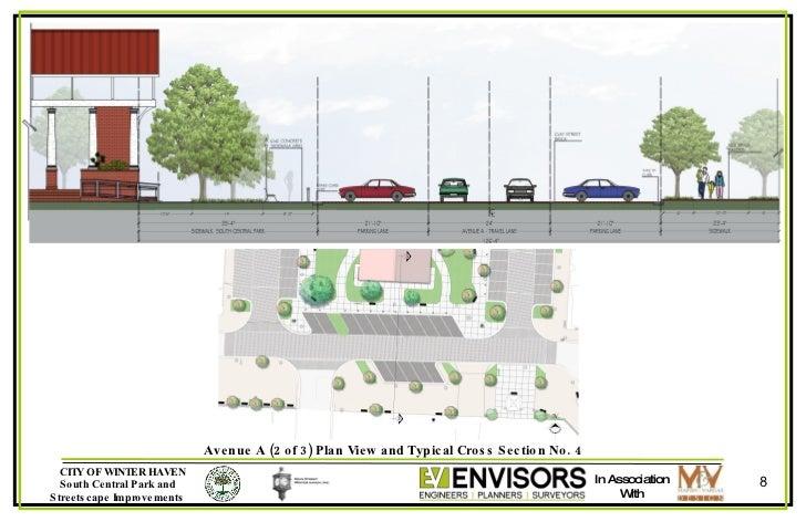 Winter Haven Florida's South Central Park Plan