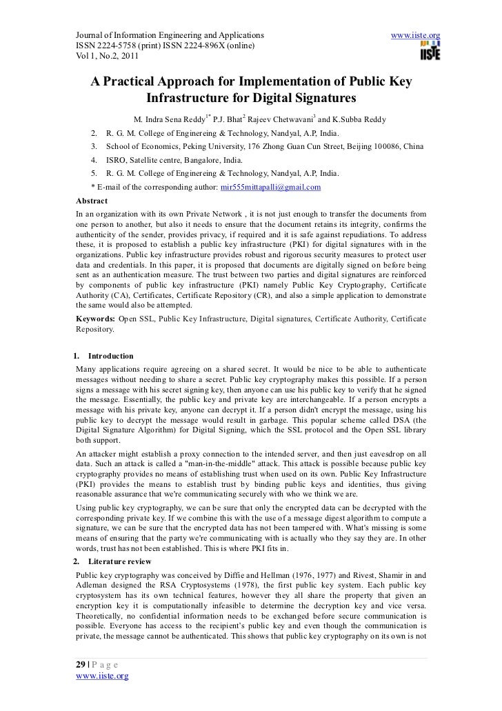 Journal of Information Engineering and Applications                                           www.iiste.orgISSN 2224-5758 ...
