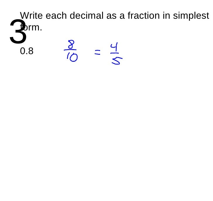simplest form 0.8  Ch. 14 14 Triangles