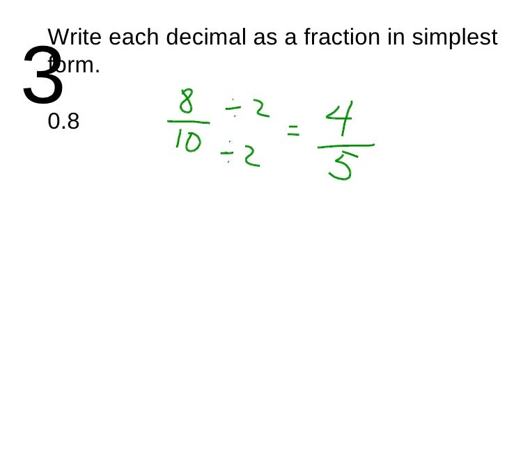 Converting Fractions to Decimals Hex