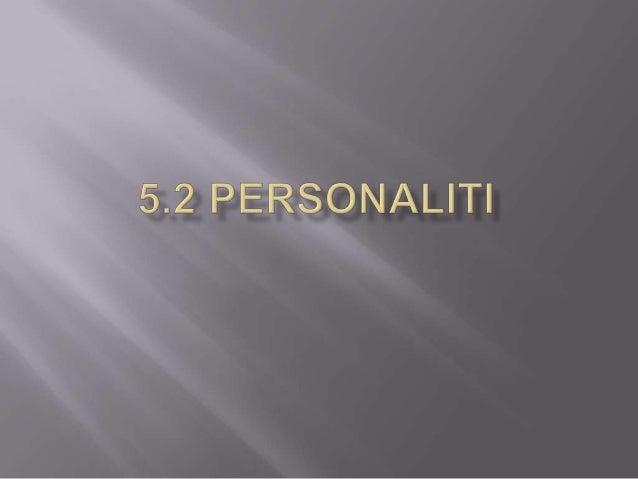   Teras Psikologi       Ia adalah ciri personaliti yang paling asas       Ia adalah paksi utama dalam diri seseorang y...