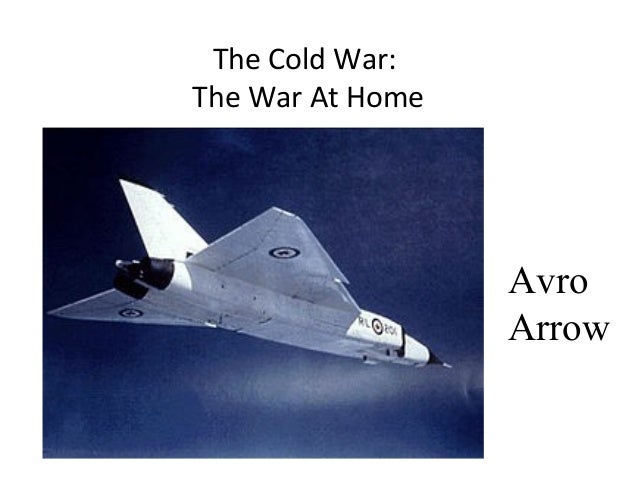 The Cold War: The War At Home  Avro Arrow