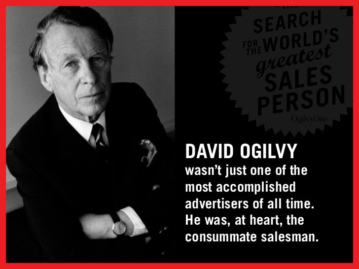 Some tips on selling from Ogilvy Slide 2