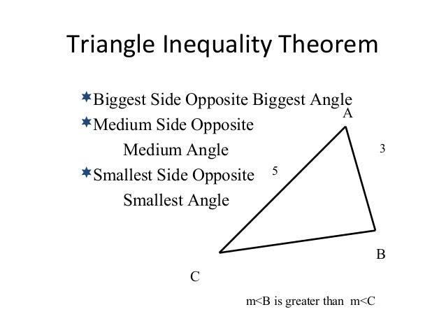 5 2 triangle inequality theorem - Triangle exterior angle theorem proof ...