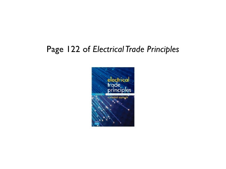 Page 122 of Electrical Trade Principles