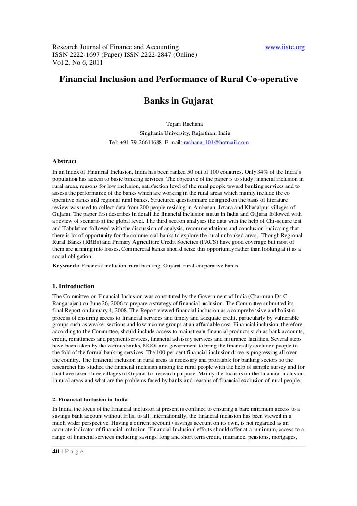 Research Journal of Finance and Accounting                                                   www.iiste.orgISSN 2222-1697 (...