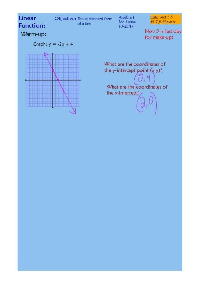 5 5 standard form