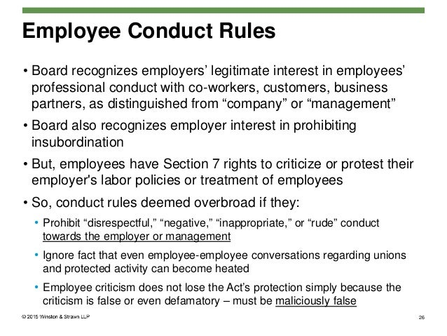Company Rules On Employees Workplace Sample Company Cell