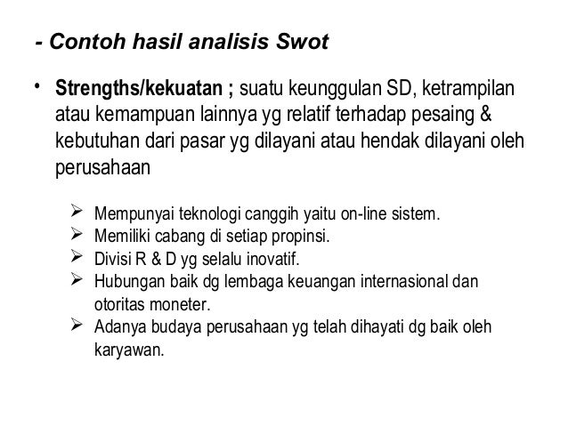 5 Analisis Swot R2