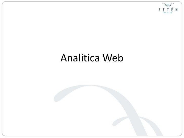 Analítica Web<br />