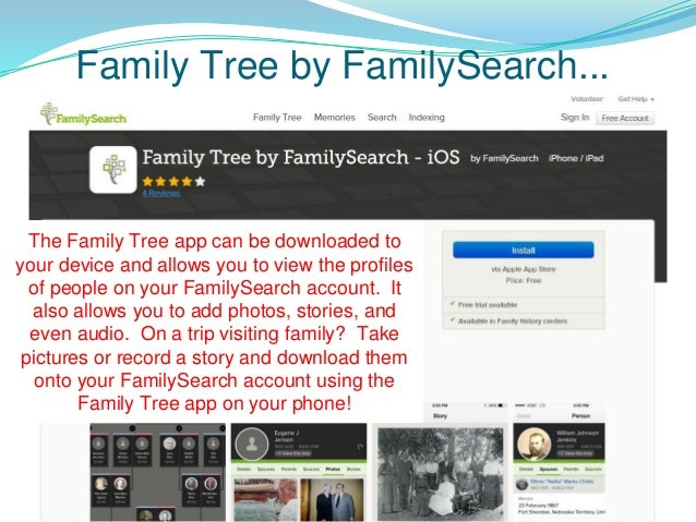 5 Family Search Apps and Indexing