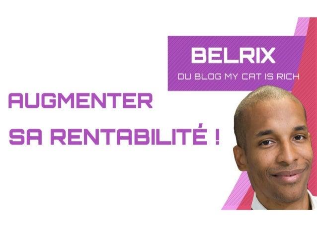 5 astuces pour augmenter ta rentabilité ! www.mycatisrich.fr BIENVENUE !!!