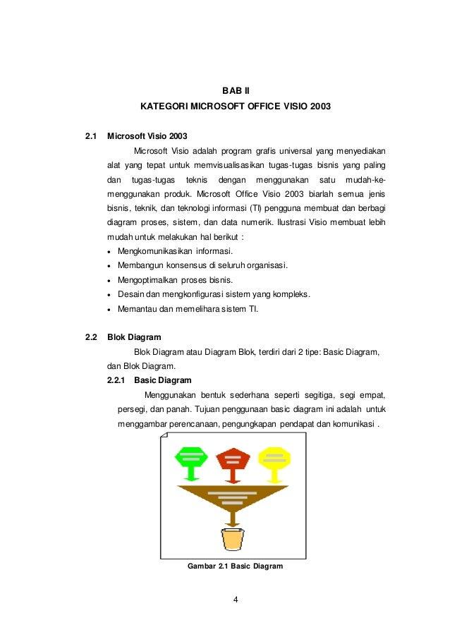 Laporan ms visio bab ii kategori microsoft office visio 2003 4 21 microsoft visio 2003 microsoft visio adalah program ccuart Gallery