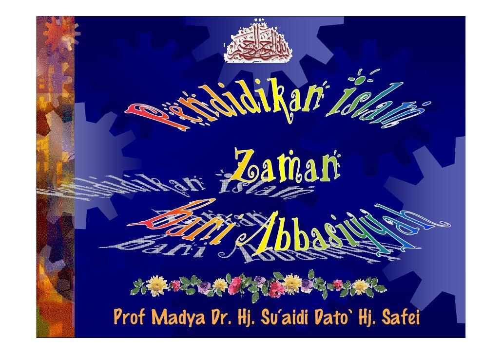 5) Bani Abbasiyyah