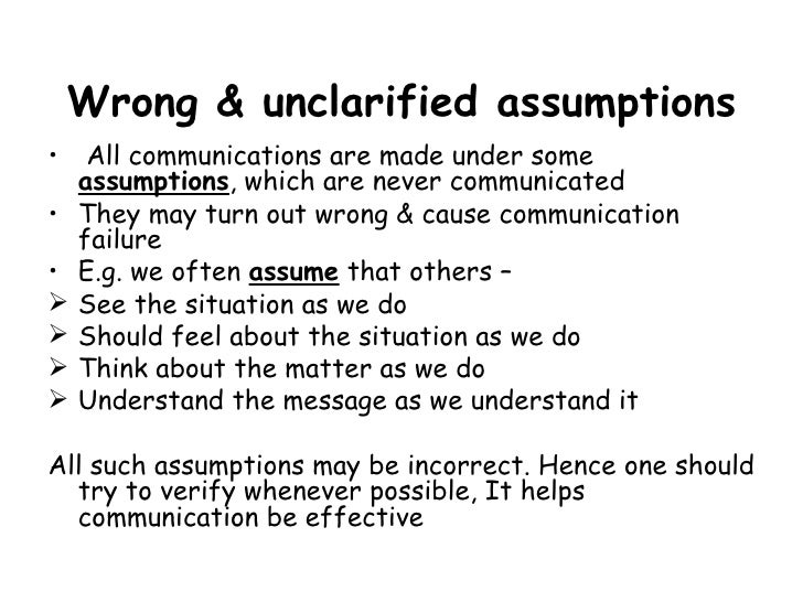5 Barriers To Communication 1