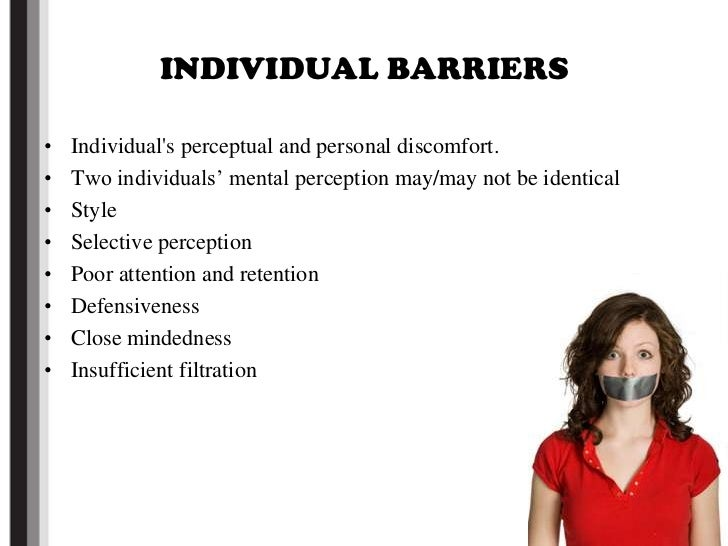 barriers to accurate interpersonal perception