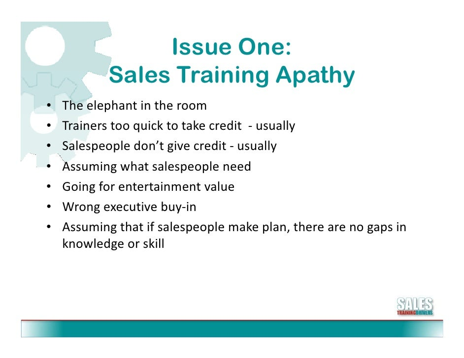 5 Biggest Challenges In Sales Training Slide 3