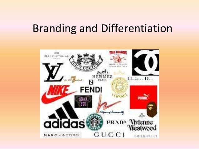 Branding and Differentiation