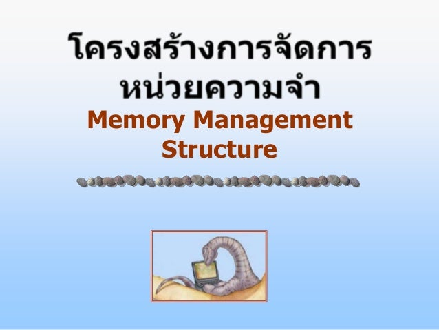 Memory Management    Structure