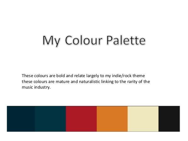 5. colour palette Slide 3