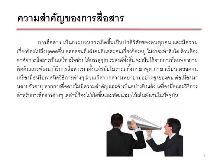 Communication Process (กระบวนการการสื่อสาร) ch.5 Slide 3