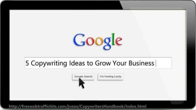 Google  5 Copywriting Ideas to Grow Your Business