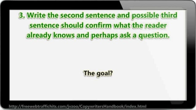 ll  3. Write the second sentence and    sentence should confirm what the  already knows and perhaps ask a cg: aesT: E»': ~...