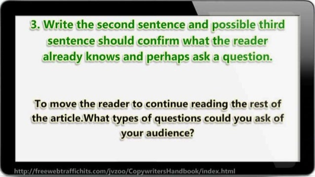 yr  3. Write the second sentence and    sentence should confirm what 'i. i'. '-; *-:   already knows and perhaps ask a c. ...