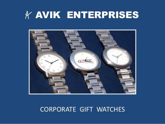 AVIK ENTERPRISES CORPORATE GIFT WATCHES
