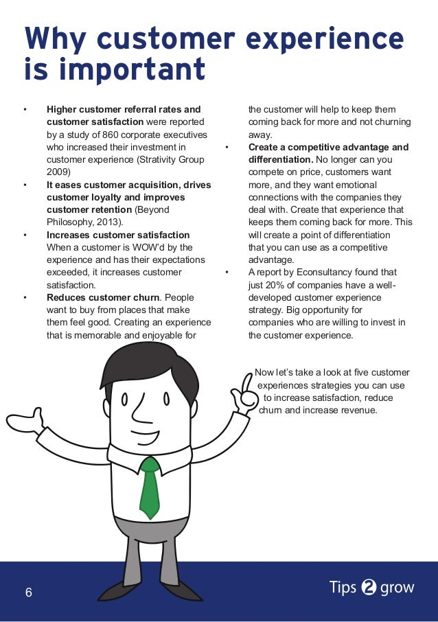 how to develop a customer experience strategy