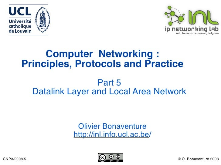 Computer Networking :          Principles, Protocols and Practice                                Part 5                Dat...