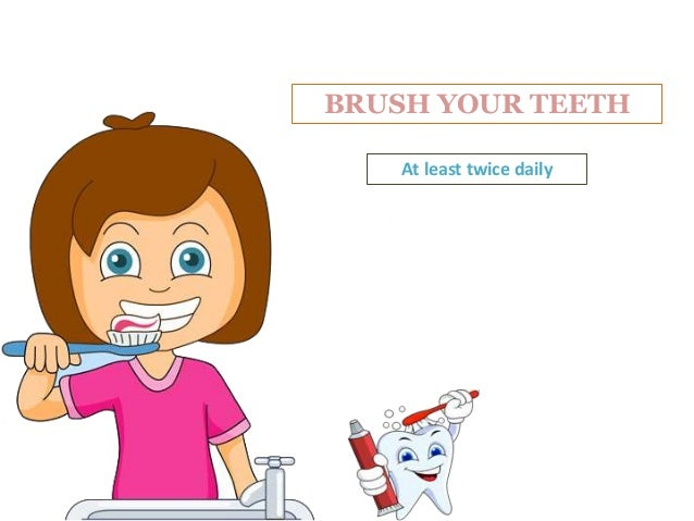 FLOSS YOUR TEETH To Remove Plaque in Between Teeth