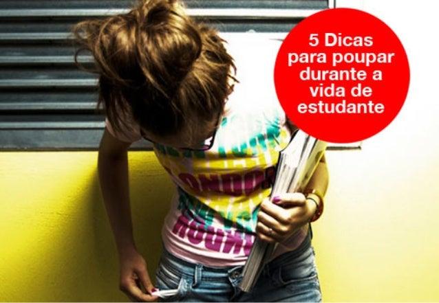 5 Dicas para poupar durante a vida de estudante