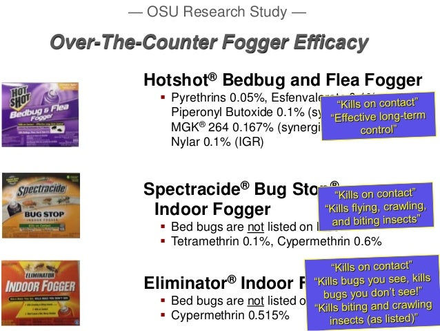 How do bug bombs kill bugs?