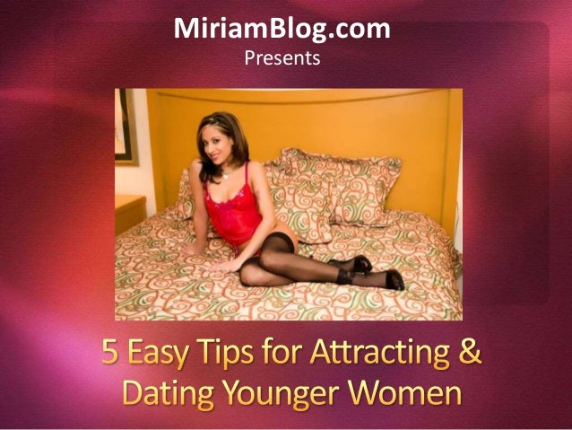 Advice on dating a younger girl