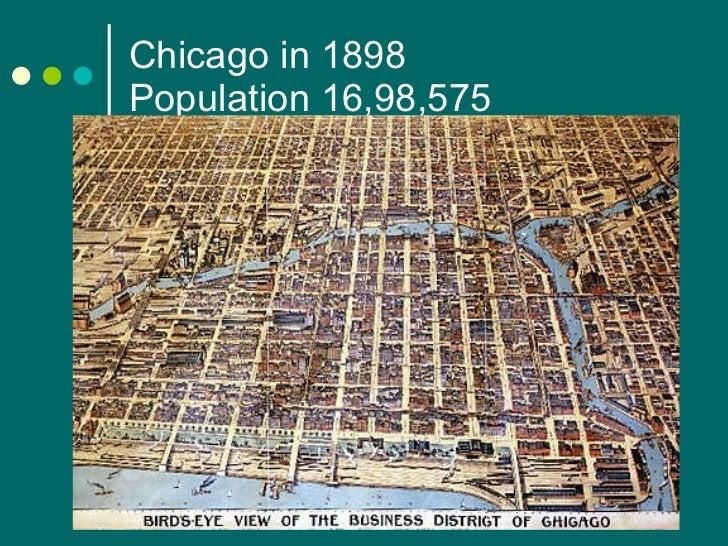 Chicago in 1898 Population 16,98,575