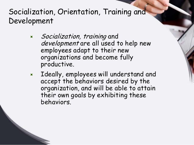 orientation and employee training A key hr function is ensuring that employees become integrated into the organization and their jobs as efficiently, effectively and quickly as.